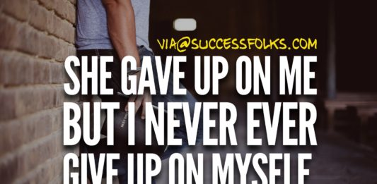 No More Give Up