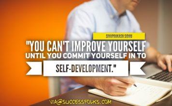 Improve Yourself